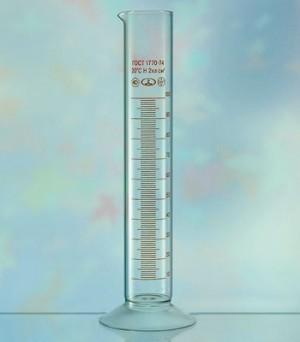 цилиндр мерный фото